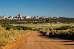Burr Trail - Utah royaltyfria foton