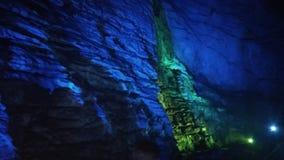 Burra grottor Arkivfoto