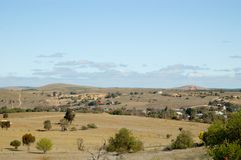 Burra Mine Landscape Royalty Free Stock Images