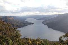 Burragorang Lookout Royalty Free Stock Image