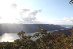 Burragorang Lookout Royalty Free Stock Photo