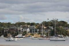 burranee沿海最近的郊区悉尼 免版税库存图片