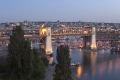 Burrard bridge Stock Photography
