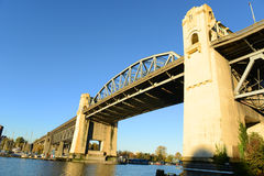 Burrard Bridge, Vancouver, BC, Canada Royalty Free Stock Image