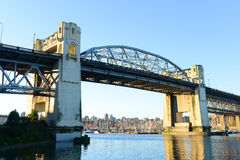 Burrard Bridge, Vancouver, BC, Canada Stock Photography
