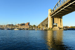 Burrard Bridge, Vancouver, BC, Canada Stock Photos