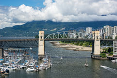 Burrard Bridge Stock Photo