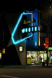 The Burrard Hotel, Vancouver, BC. Stock Image