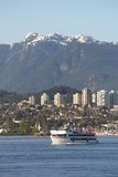 Burrard Inlet Harbor Cruise, Vancouver Royalty Free Stock Image