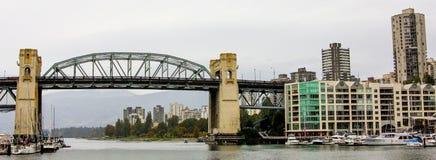 Burrard St. Bridge, Vancouver, B.C. Stock Photography