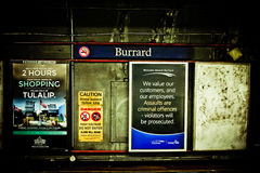 Burrard Station, Vancouver, B.C. Stock Images