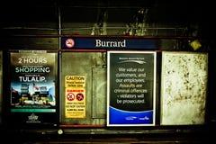 Burrard Station, Vancouver, B.C. Stock Images