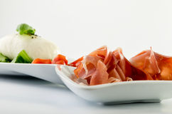 Burrata Royalty Free Stock Images