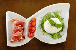Burrata Royalty Free Stock Photography