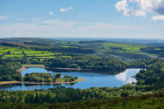 Burrator Reservoir. In Devon on a beautiful summers day stock photography