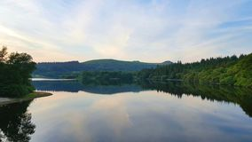 burrator rezerwuar Dartmoor Devon uk zdjęcia stock