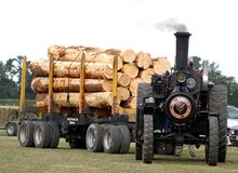 The Burrell Traction Engine (11) Stock Images