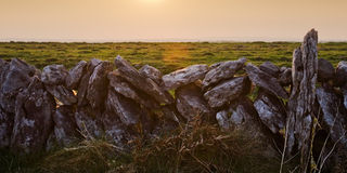 Burren,爱尔兰 库存照片