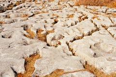 Burren绵延山  免版税库存图片