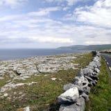 Burren dichtbij Derreen, het Westen Ierland Stock Foto