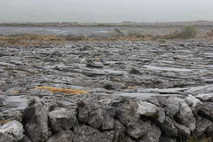 The Burren is a interesting landscape, Ireland Royalty Free Stock Image