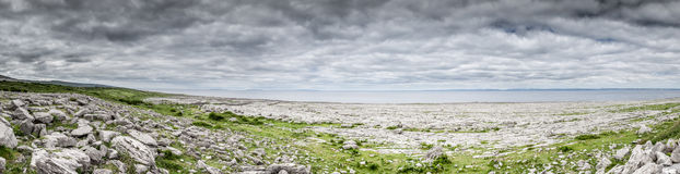 The Burren Ireland. An image of the Burren in Ireland Royalty Free Stock Photo