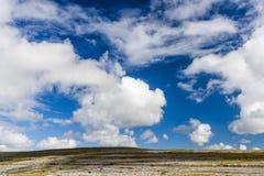 Burren krajobraz, okręg administracyjny Clare, Irlandia Fotografia Stock