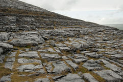 The Burren Landscape, Co. Clare - Ireland. The Burren (Irish: Boireann, meaning great rock) is a karst-landscape region or alvar in northwest County Clare, in Royalty Free Stock Photos