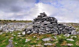 Burren-Landschap 11 Stock Foto's