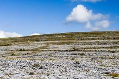 Burren landskap, ståndsmässiga Clare, Irland Royaltyfria Bilder