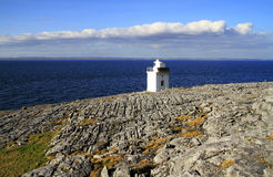 Burren Lighthouse Stock Photos