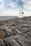 Burren lighthouse Royalty Free Stock Photo