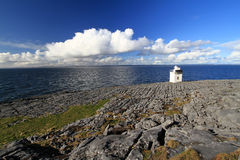 Burren Lighthouse in Co.Clare. Ireland Stock Photography