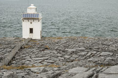 Burren Lighthouse, Co.Clare - Ireland Royalty Free Stock Images