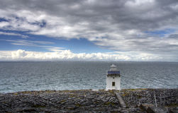 Burren lighthouse in Ireland Stock Photography