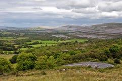 burren limestonenationalparken Royaltyfri Bild