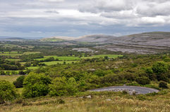 The burren national park limestone Royalty Free Stock Image
