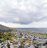 The Burren near Derreen, West Eire Royalty Free Stock Photo