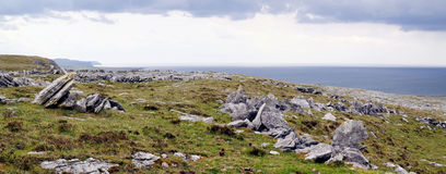 The Burren near Derreen, West Eire Royalty Free Stock Photos
