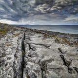 The Burren near Derreen, West Eire royalty free stock photos
