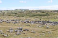 Burren okręg administracyjny Clare Irlandia 2 Fotografia Royalty Free