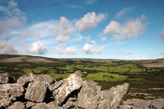 The Burren quite landscape, Ireland Royalty Free Stock Image