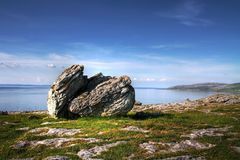 Burren rock Stock Photos