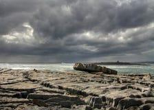 burren stenen Fotografering för Bildbyråer