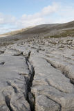 The Burren, a unique limestone karst landscape Stock Image