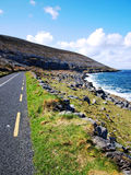 The Burren. View along the coast at the Burren Stock Photo