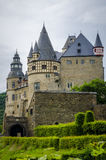 Burresheim-Schloss Lizenzfreie Stockfotos