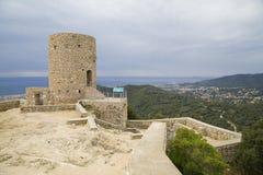 Burriac Castle, Barcelona, Spain Royalty Free Stock Photography