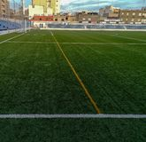 Burriana, Spain 11/29/18: San Fernando Stadium royalty free stock photo