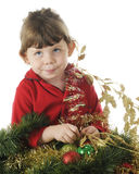 Burried in Christmas Royalty Free Stock Images